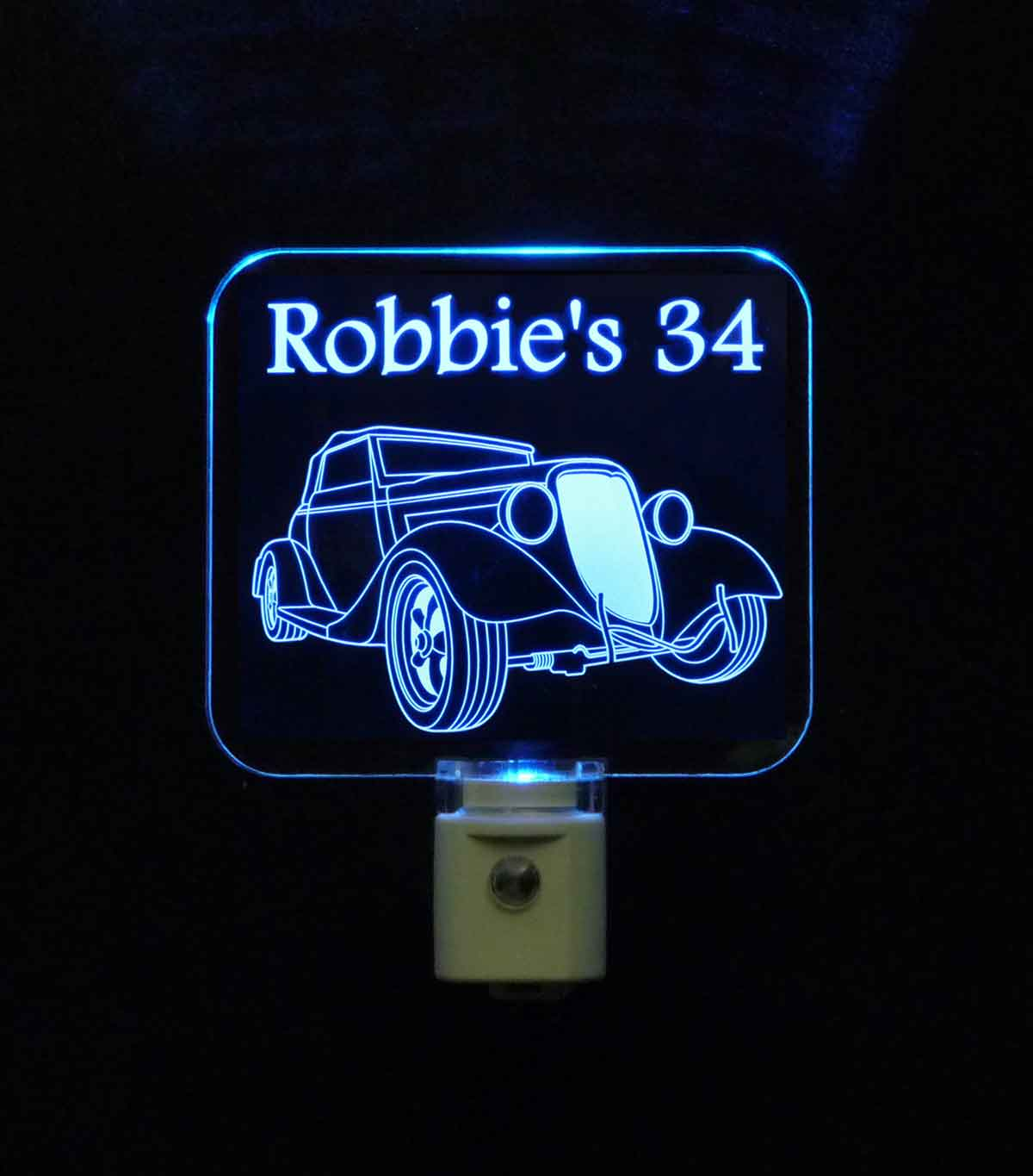 Antique Car Personalized Night Light
