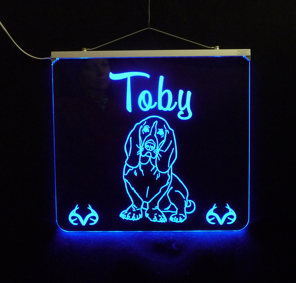 Basset Hound LED Sign