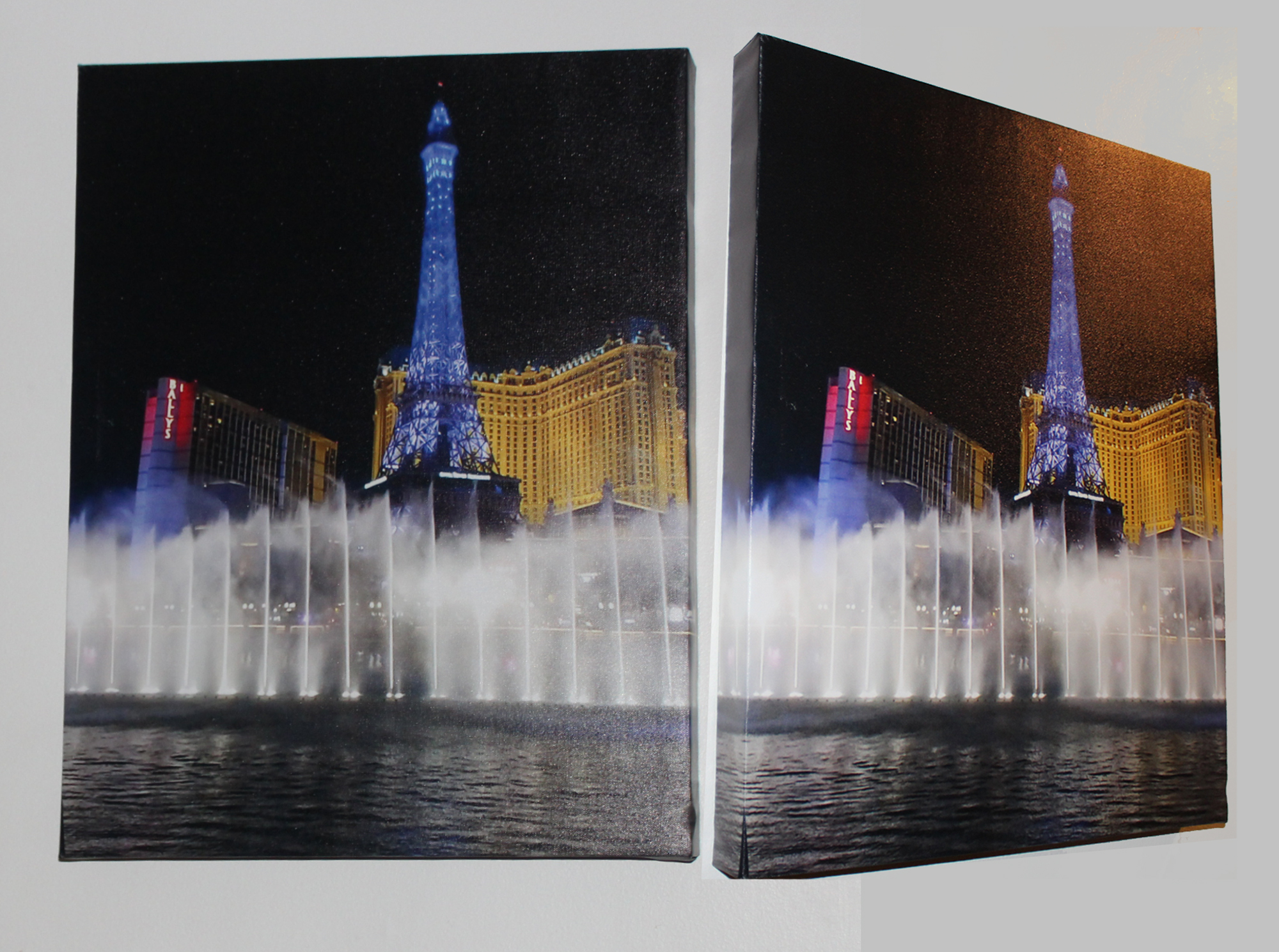 Photograph UV Printed on Canvas