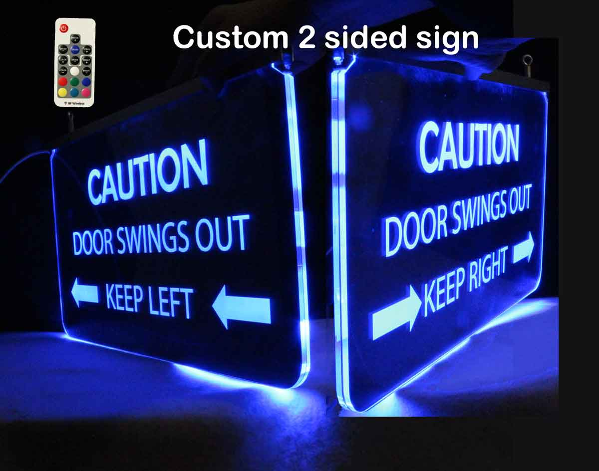 Personalized 2 Sided LED Neon Sign