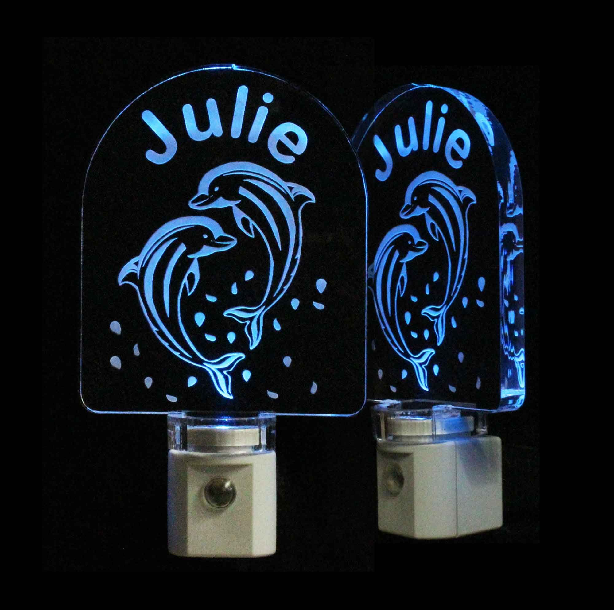 Dolphin Personalized LED Night Light