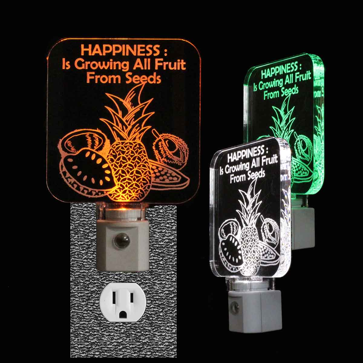 Personalized Tropical Fruit Night Light
