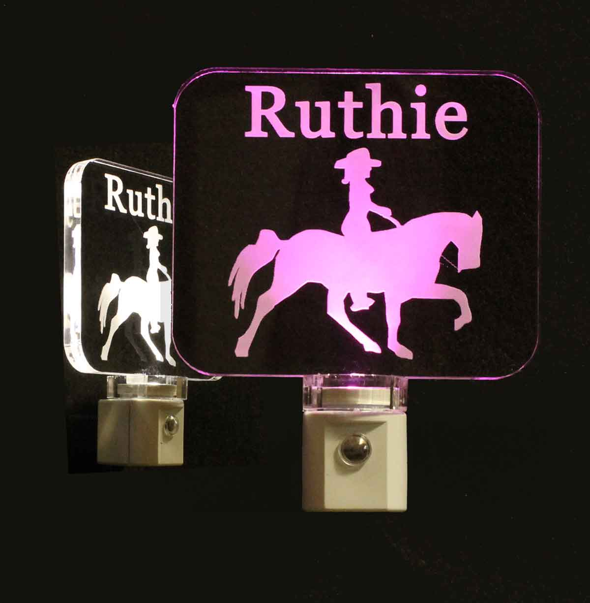Personalized Horse Night Light