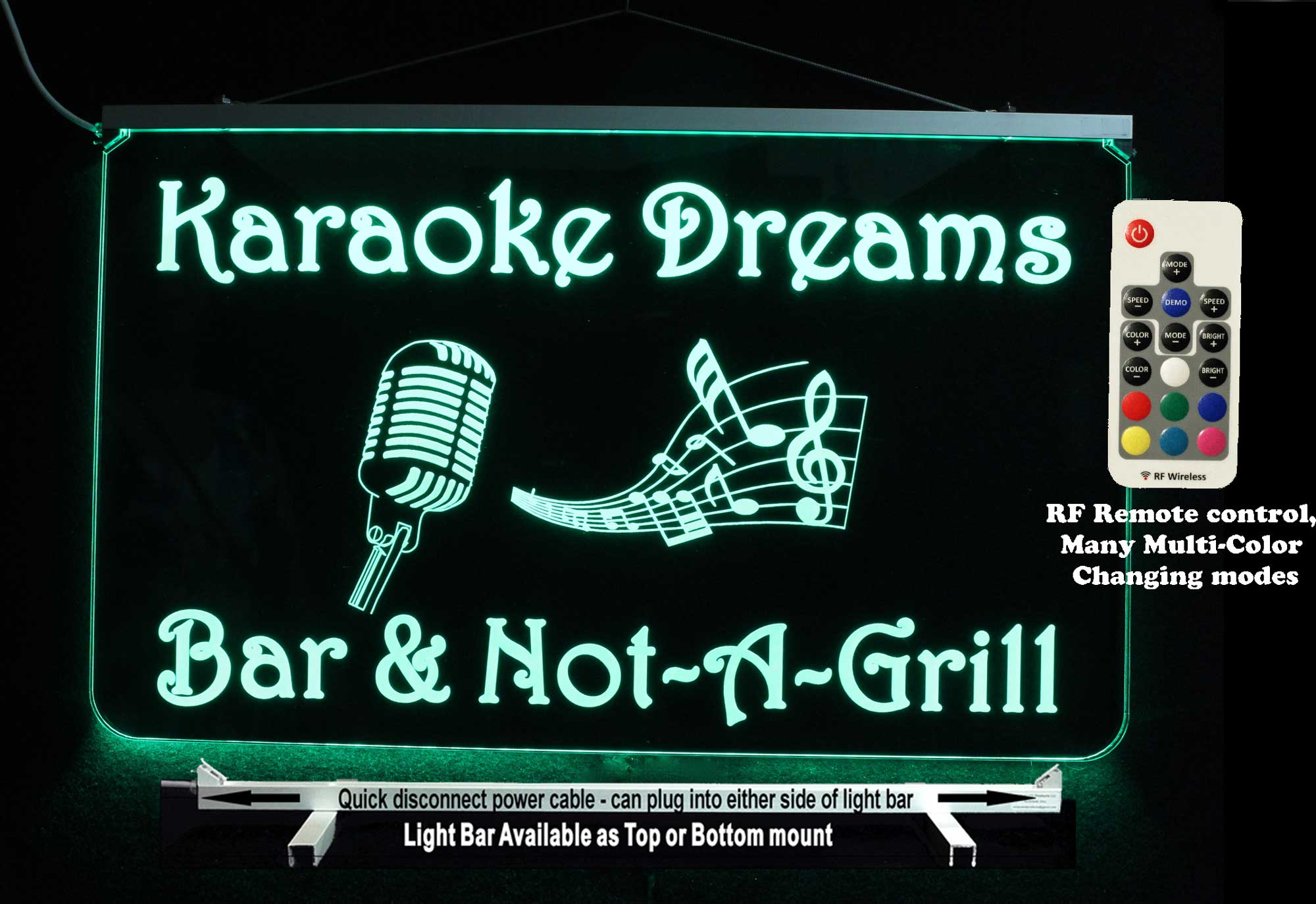 Personalized Karaoke LED Neon Sign