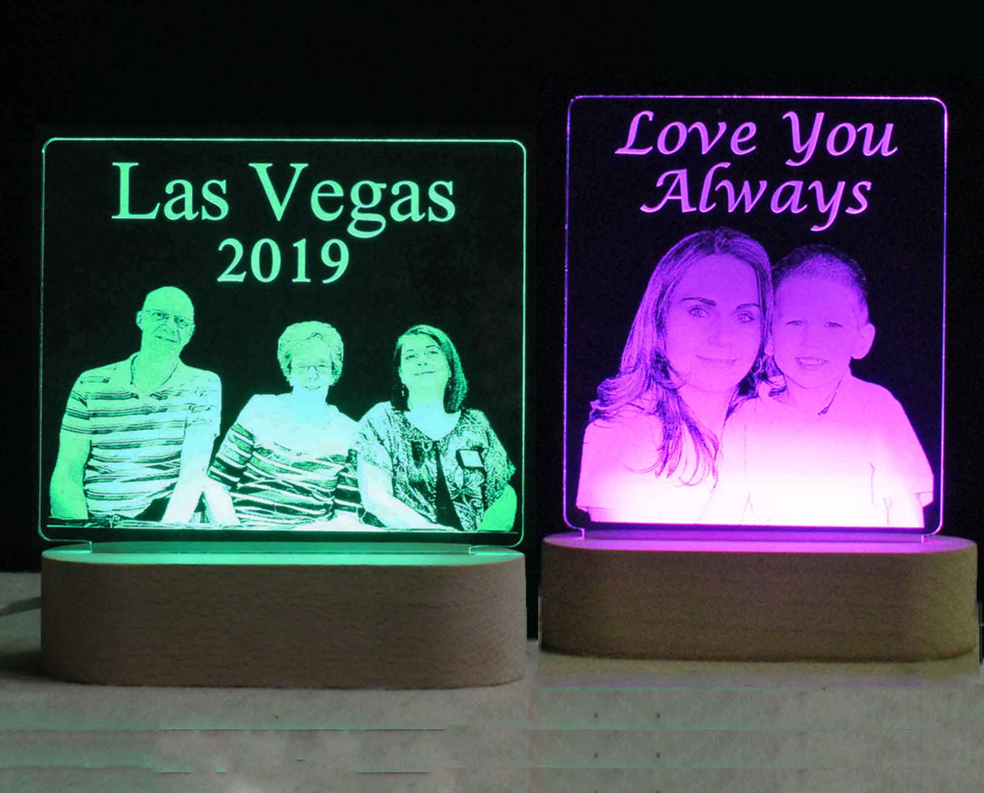 Custom Personalized Photo USB LED Night Light or your design