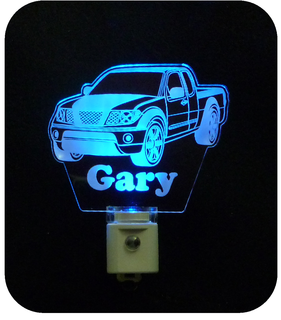 Personalized Pickup Truck LED Night Light