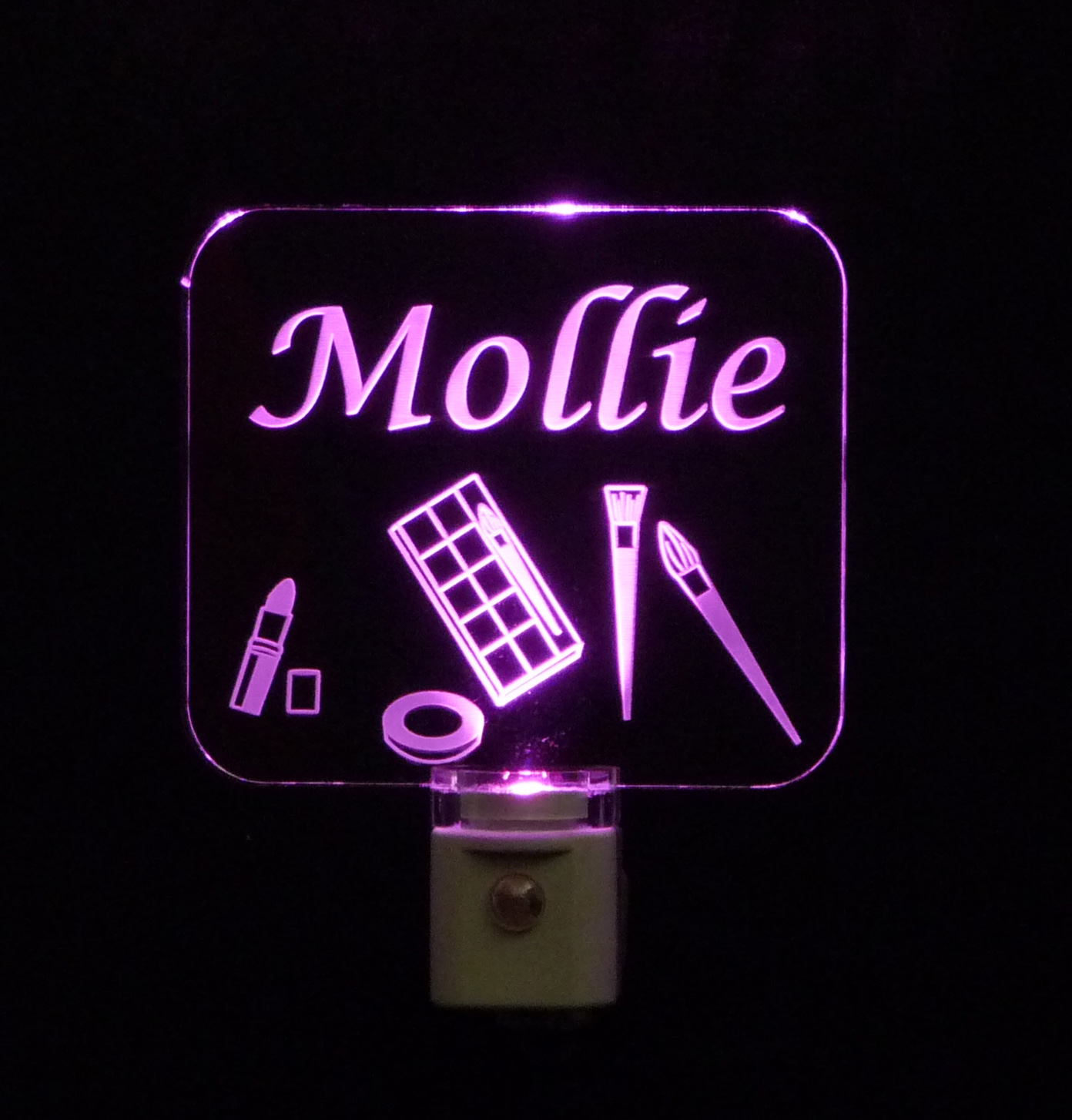 Bathroom Night Light Personalized