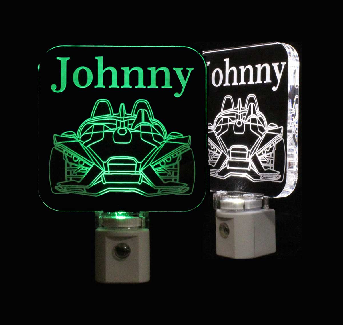 Slingshot Night Light Personalized