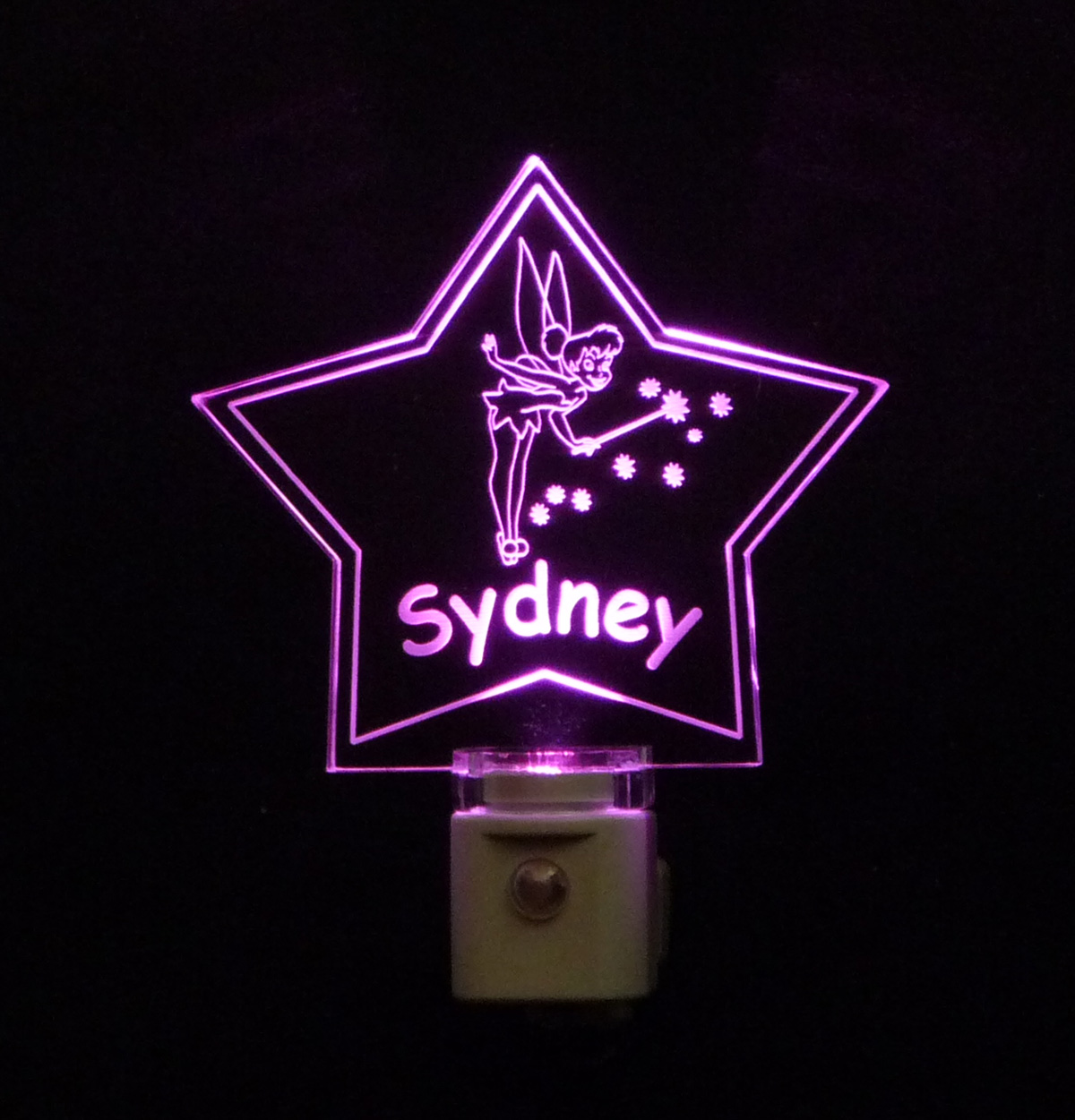 Kids Personalized Fairy Star Shaped LED Night Light
