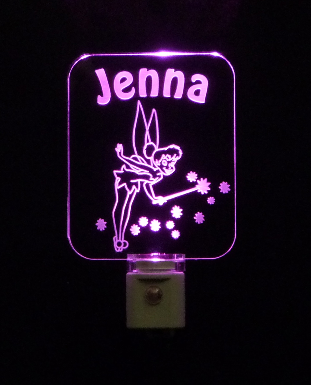 Personalized Fairy LED Night Light