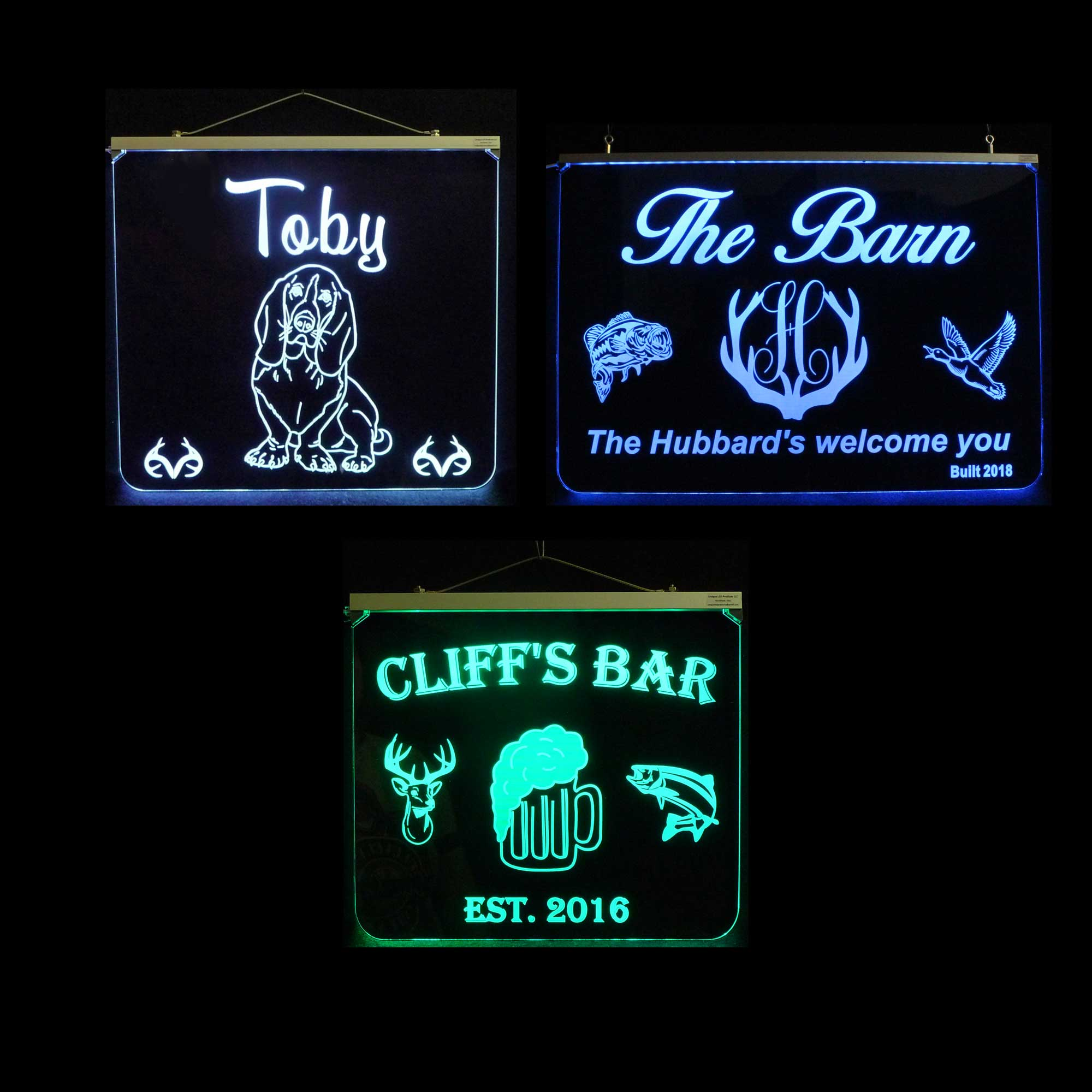 Animal Signs Custom LED