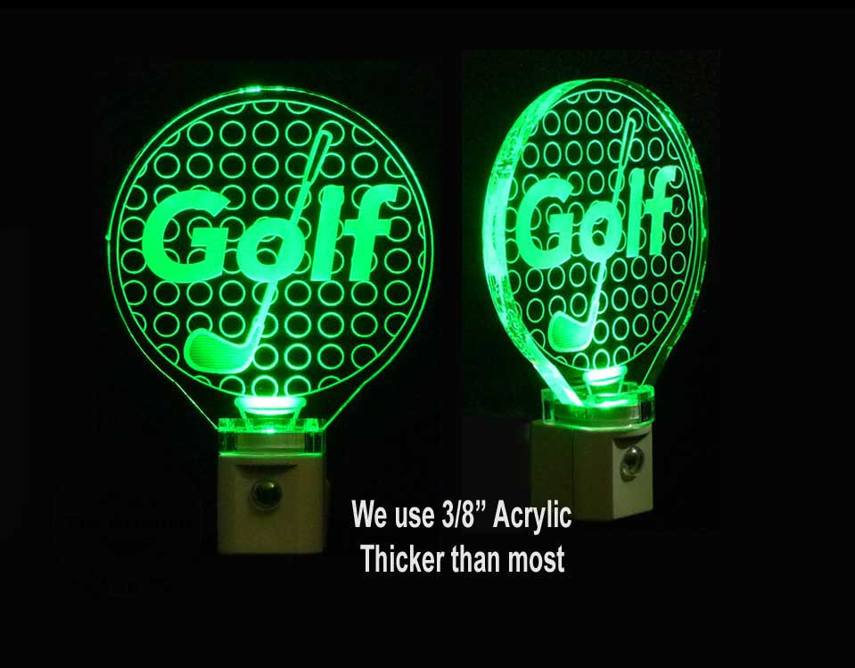 Golf Ball Personalized Night Light