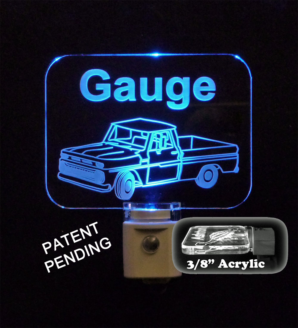 Personalized  Vintage Truck LED Night Light