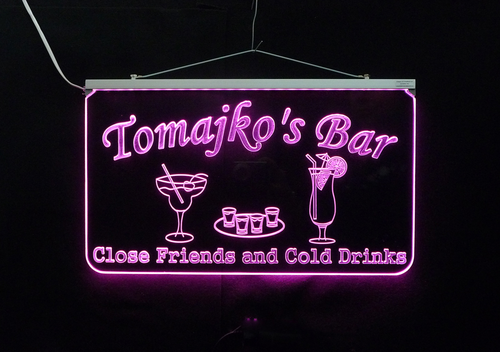 Personalized Bar Sign, Man Cave Sign
