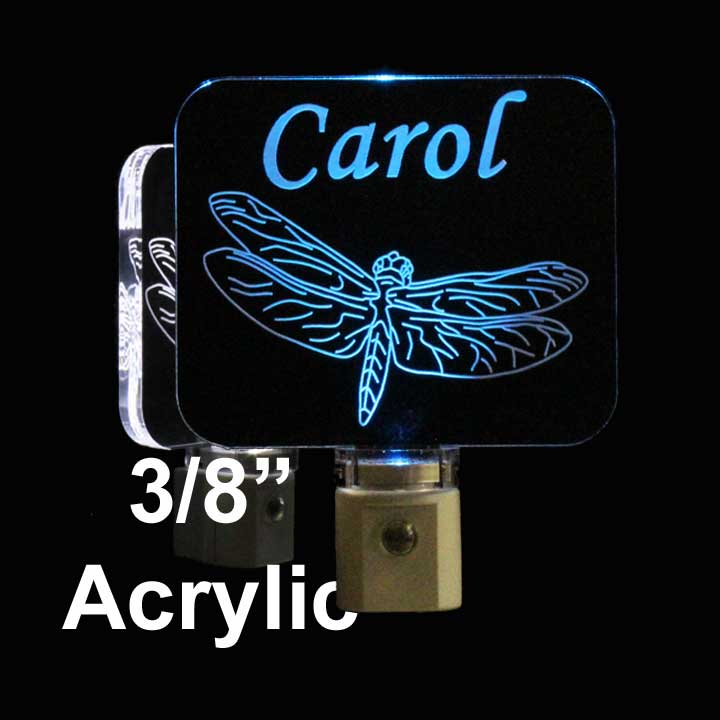 Personalized Dragonfly LED Night Light