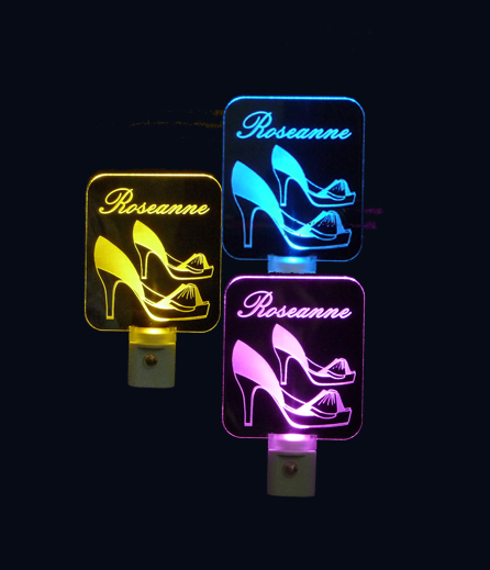 Personalized High Heel Shoes LED Night Light