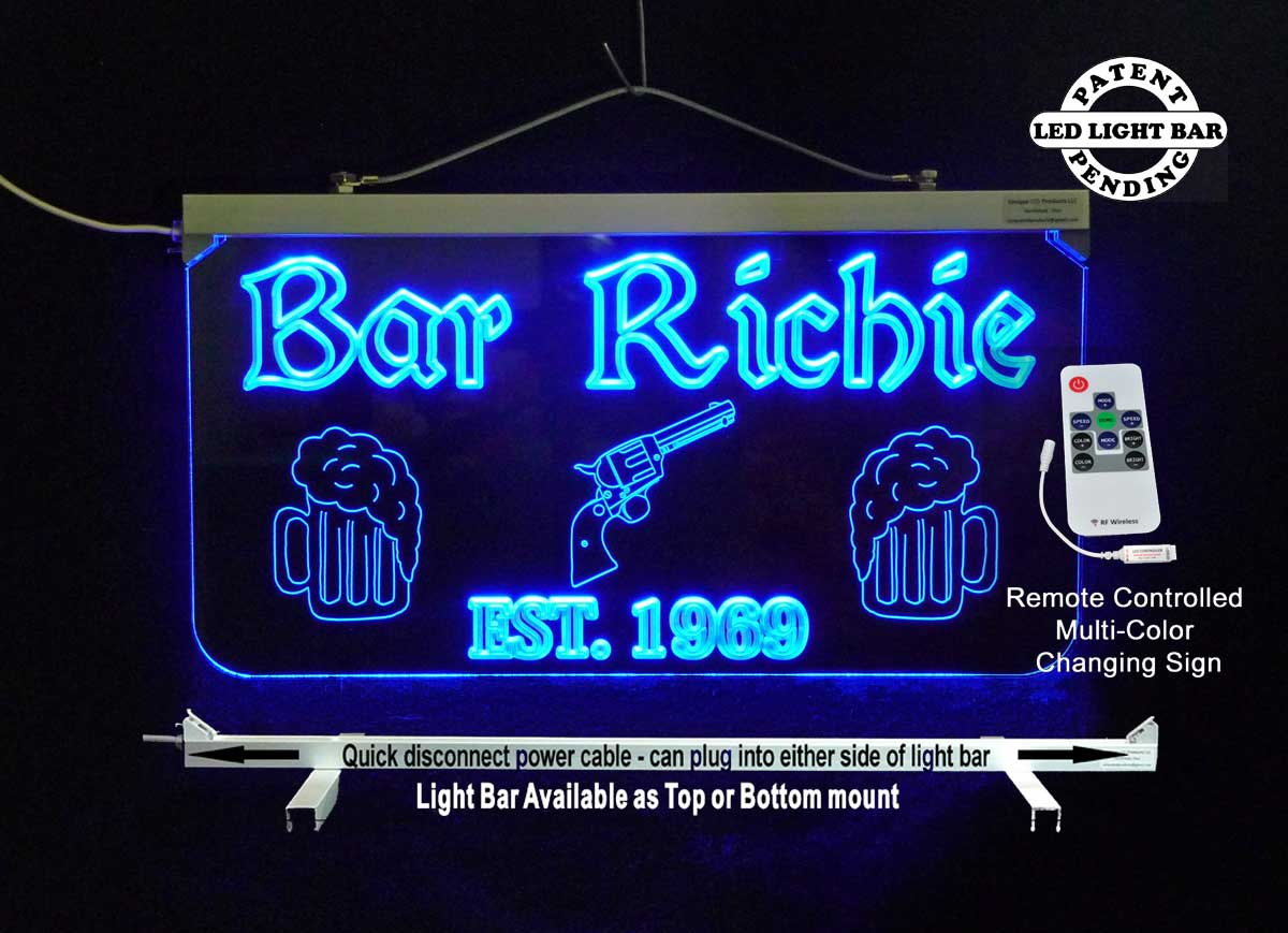 Personalized  Man Cave Sign, Garage Sign,  Bar Sign