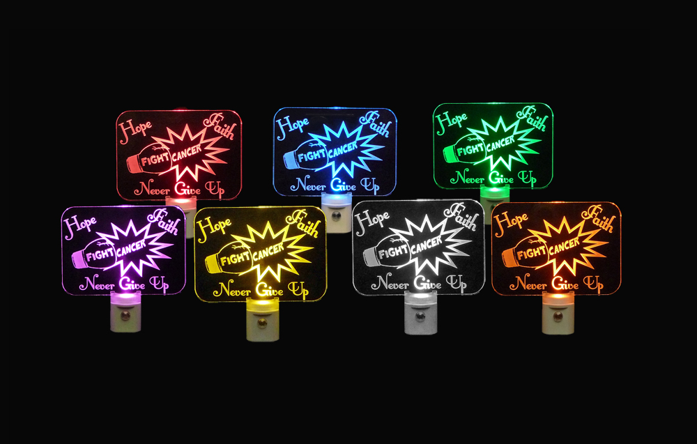 Fight Cancer LED Night Light