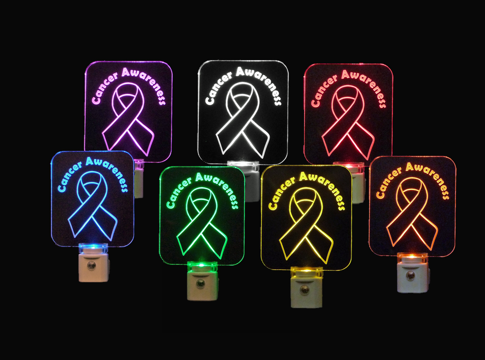 Cancer Awareness LED Night Light