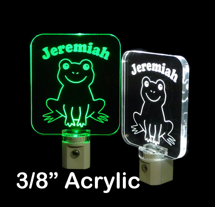 Personalized Frog LED Night Light