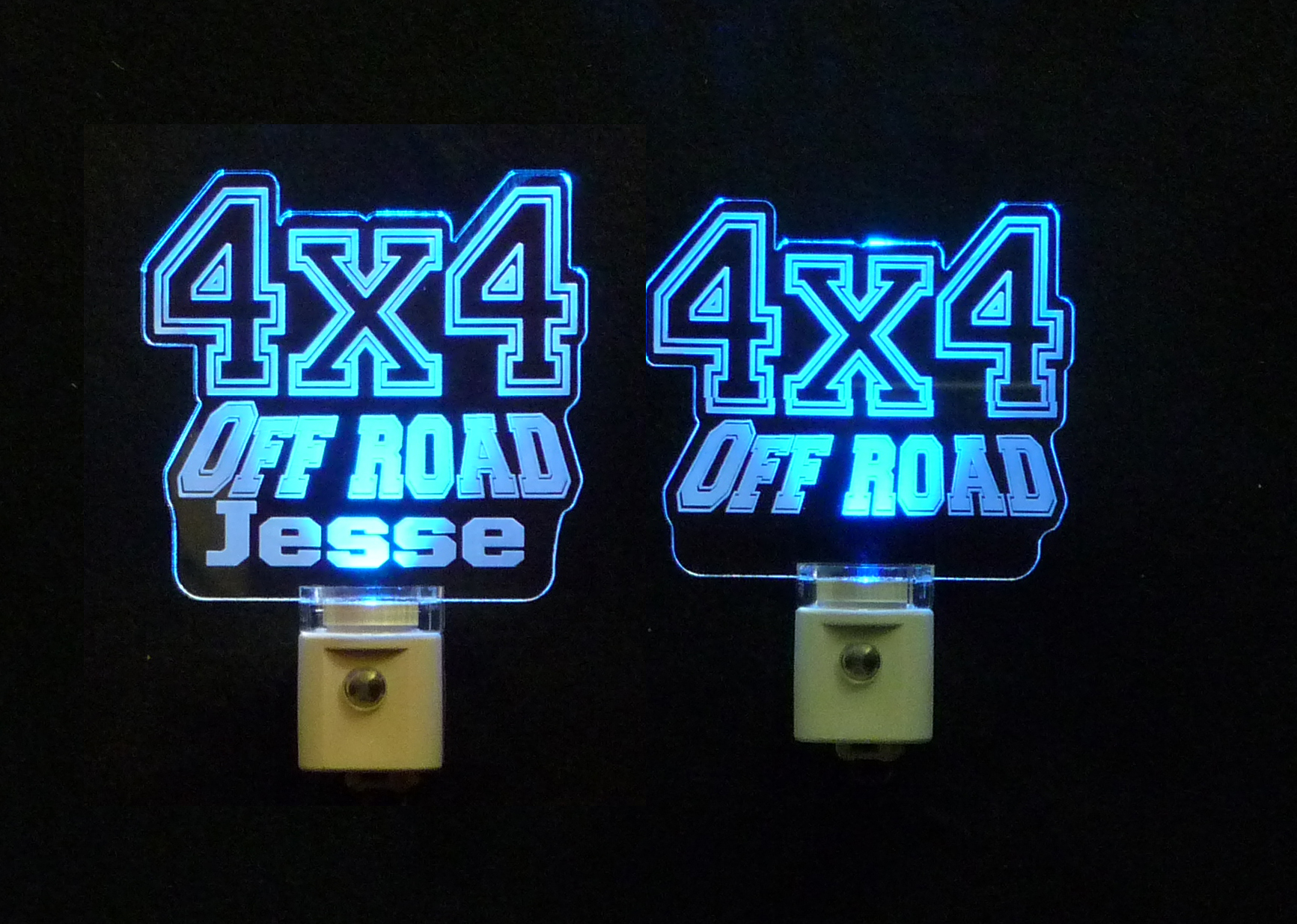 Personalized 4 x 4 Off Road LED Night Light