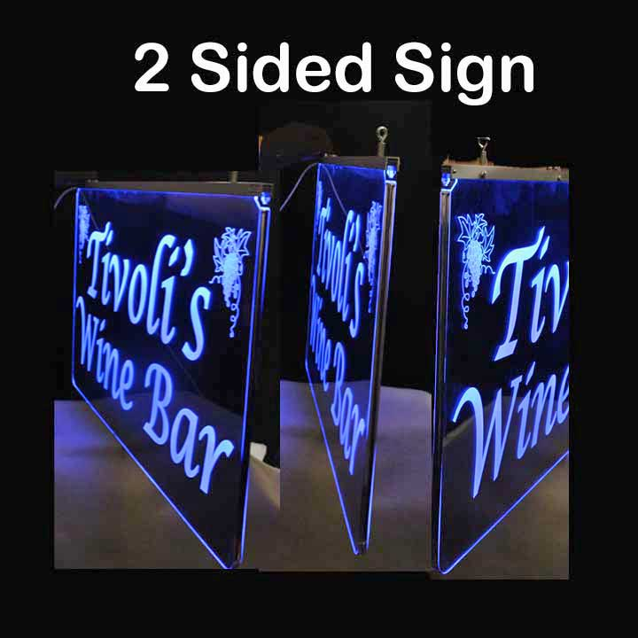Personalized 2 Sided LED Sign