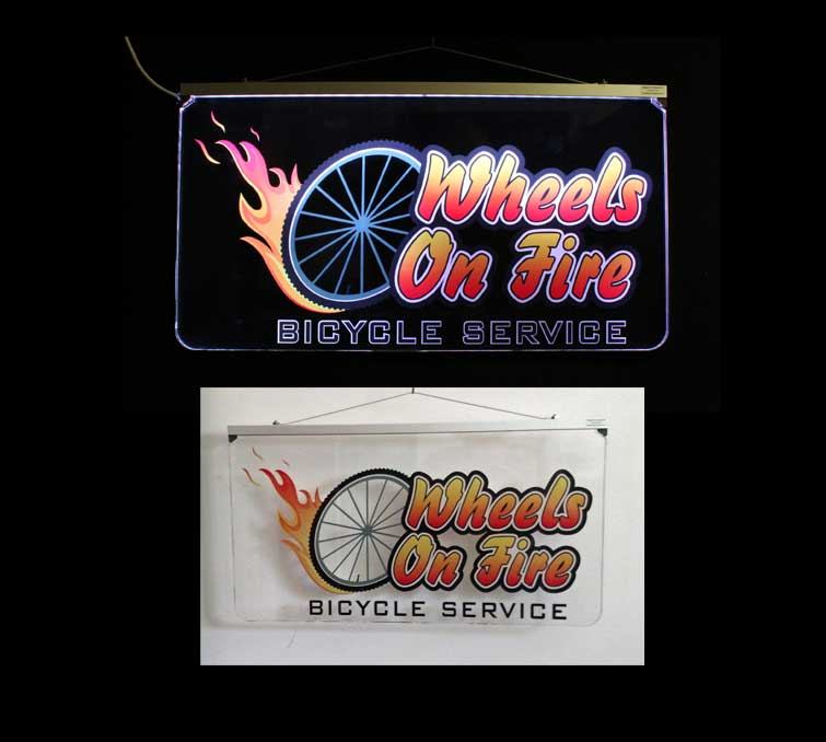 UV Printed Full Color LED Sign