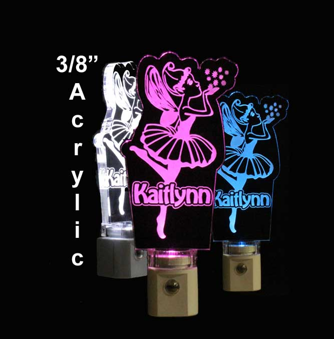 Personalized Fairy Night Light - LED