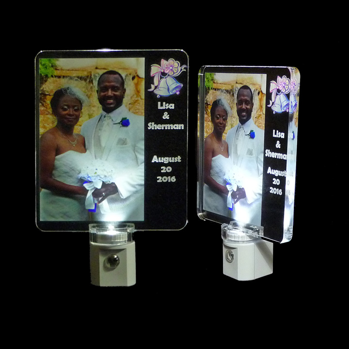Full Color Photo Personalized Night light