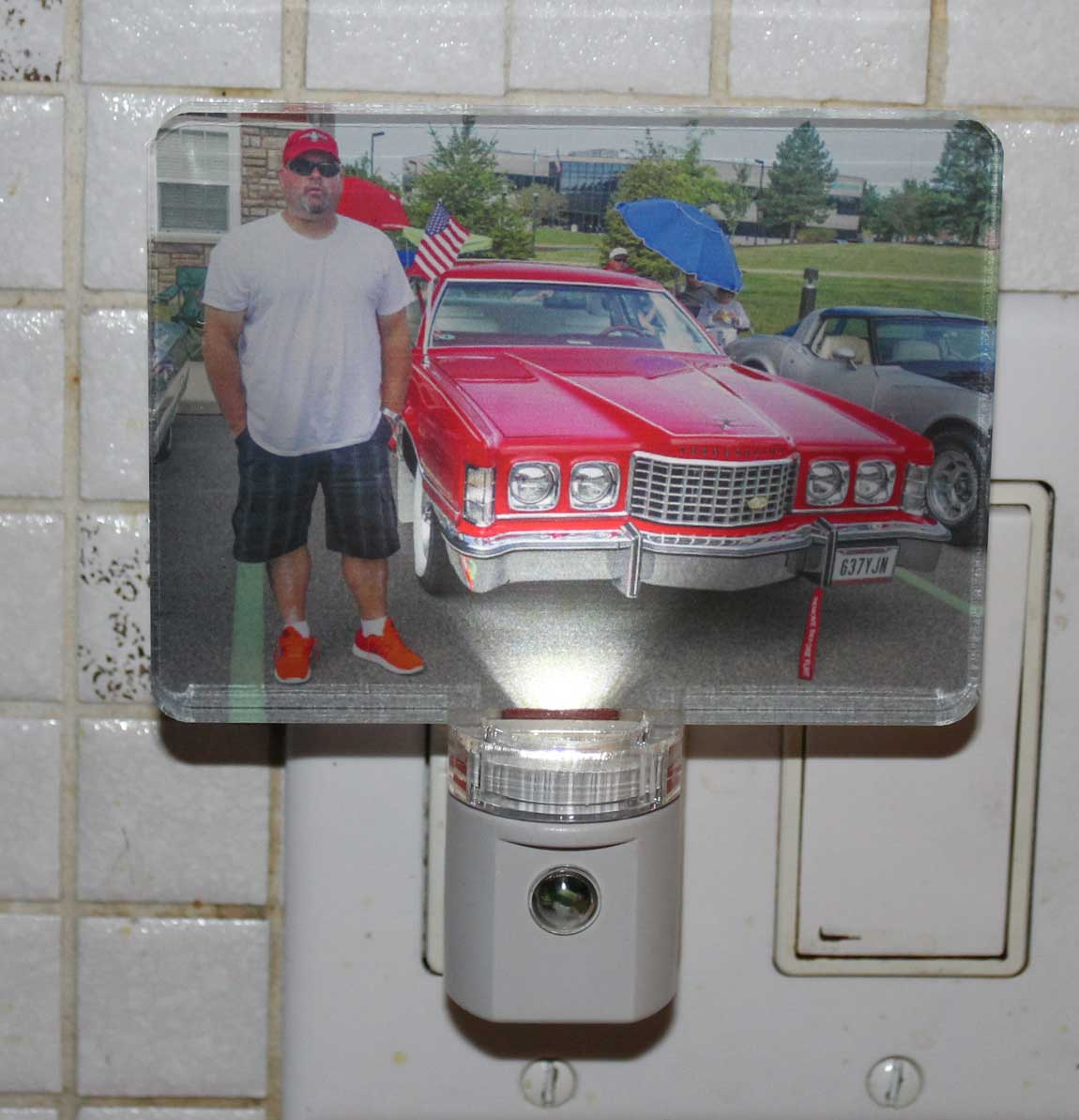 Personalized Photo Night light - UV Printed