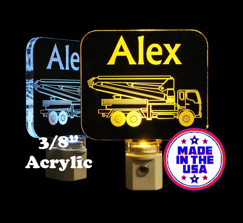 Truck Personalized LED Night Light