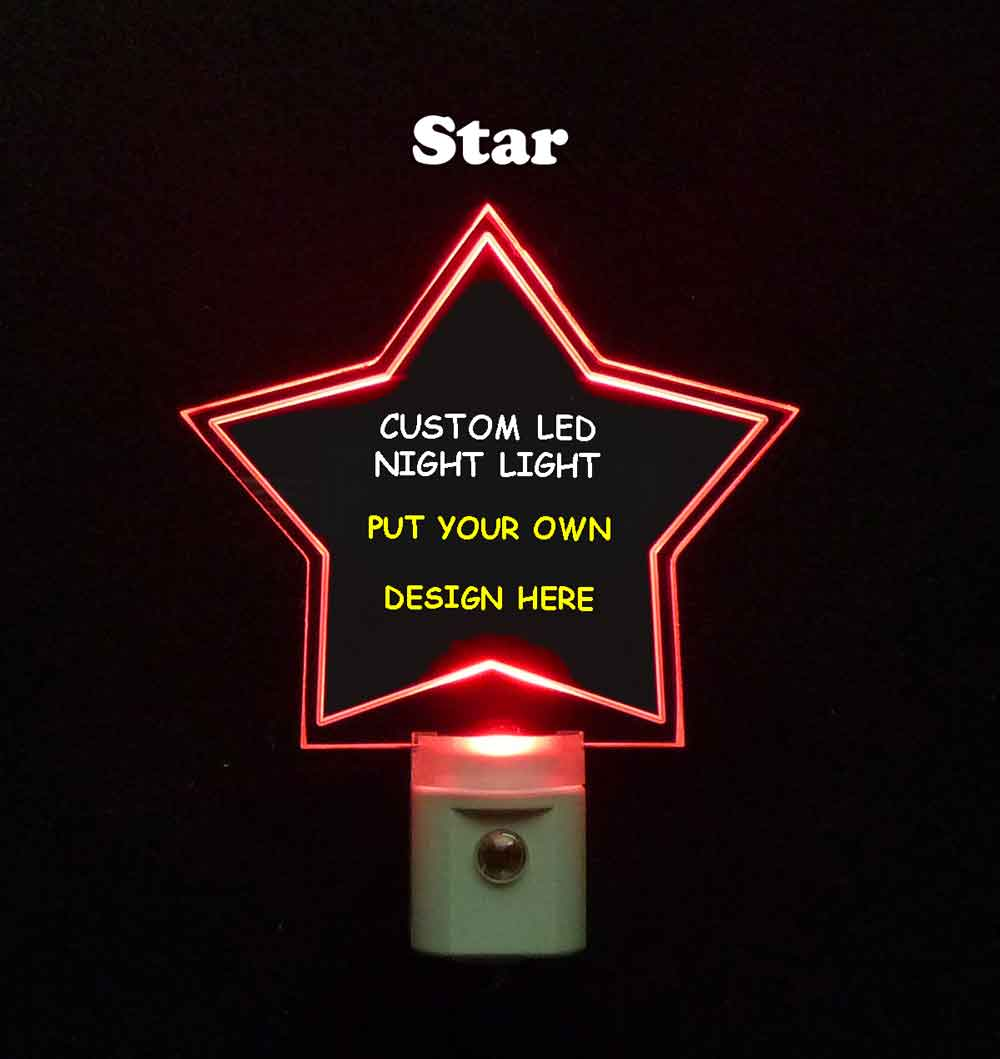 Custom Star Night Light - Design your own light